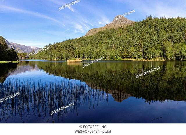Great Britain, Scotland, Scottish Highlands, Glencoe, Glencoe Lochan