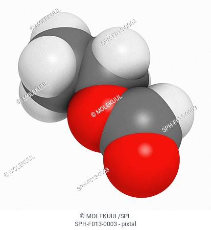 Ethylhexyl triazone sunscreen molecule (UV filter). Atoms are represented as spheres with conventional colour coding: hydrogen (white), carbon (grey)