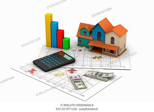 Sale house and calculator
