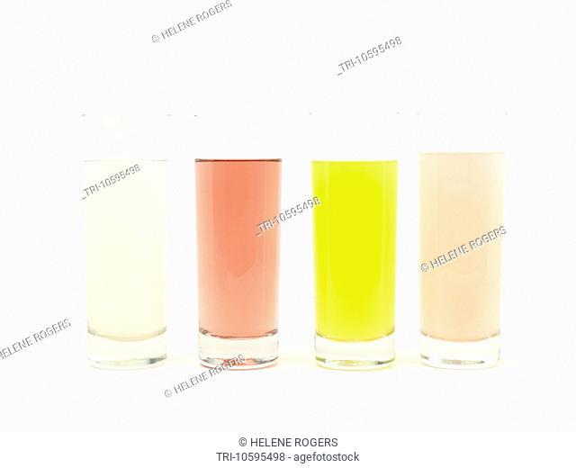 Range of Squash Drinks