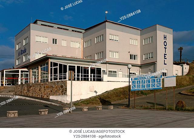 Hotel A Roda (next to the Playa del Rio), Meiras - Valdovino, La Coruna province, Region of Galicia, Spain, Europe