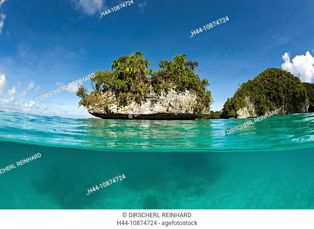 Inselwelt von Palau, Mikronesien, Palau, Islands of Palau, Micronesia, Palau