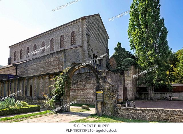 4th century basilica and former monastic church of Saint-Pierre-aux-Nonnains in the city Metz, Moselle, Lorraine, France