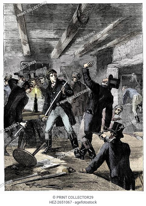 The arrest of the Cato Street conspirators, 1820 (c1895). Artist: Unknown