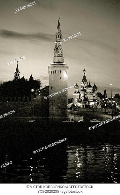 Kremlin and Moskva River embankment