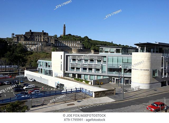 city of edinburgh council administrative headquarters waverley court edinburgh scotland uk united kingdom