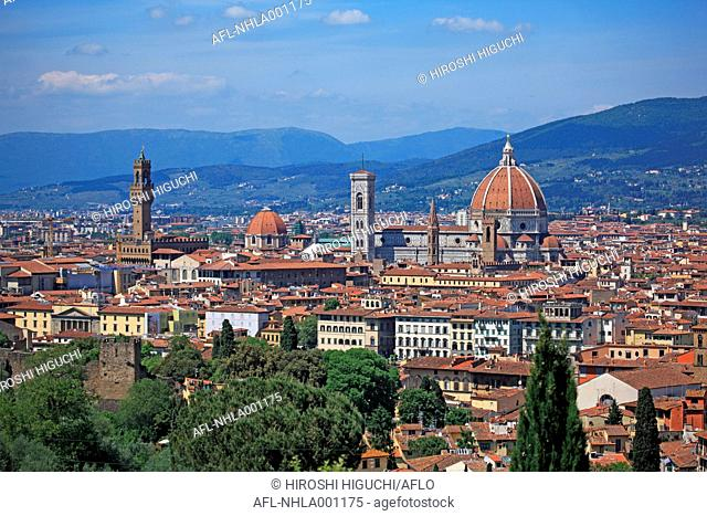 Italy, Toscany, Toscana, Firenze, Historic Centre of Florence, UNESCO World Heritage