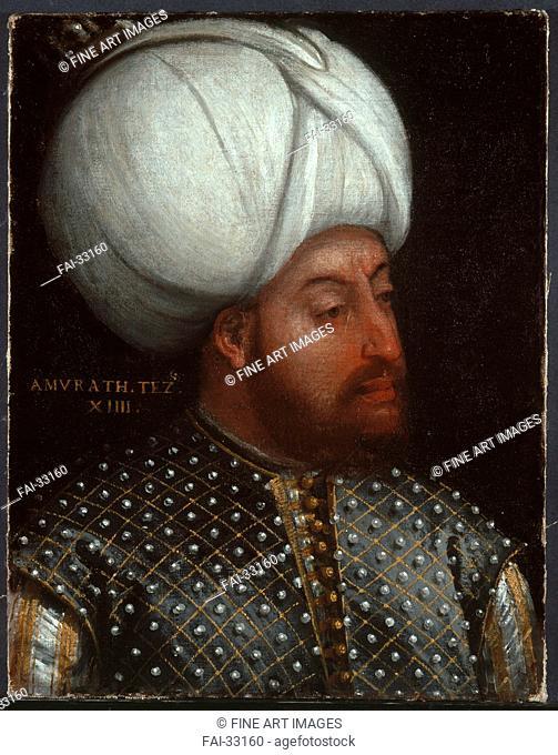Murad III (1546-1595), Sultan of the Ottoman Empire by Veronese, Paolo, (School) /Oil on canvas/Renaissance/Italy, Venetian School/Bayerische...
