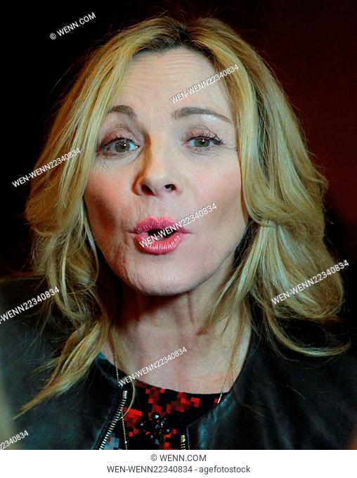 Jameson Dublin International Film Festival - 'Sensitive Skin' premiere Featuring: Kim Cattrall Where: Dublin, Ireland When: 26 Mar 2015 Credit: WENN