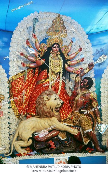 Durga pooja in shivaji park at mumbai India