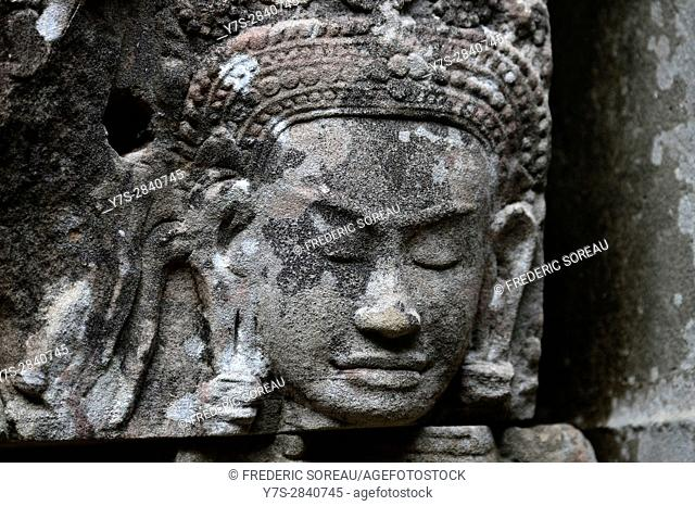 Preah Khan temple,Siem Reap,Angkor,Cambodia,Indochina,Southeast Asia,Asia