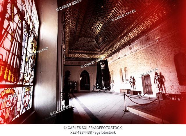 Sala de Reyes, Alcázar de Segovia