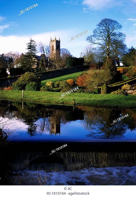 Church And Riverside, Moynalty, Co Meath, Ireland