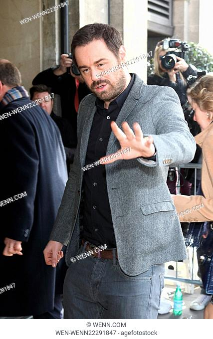 TRIC Awards 2015 at the Grosvenor House Hotel, Park Lane, London Featuring: Danny Dyer Where: London, United Kingdom When: 10 Mar 2015 Credit: WENN