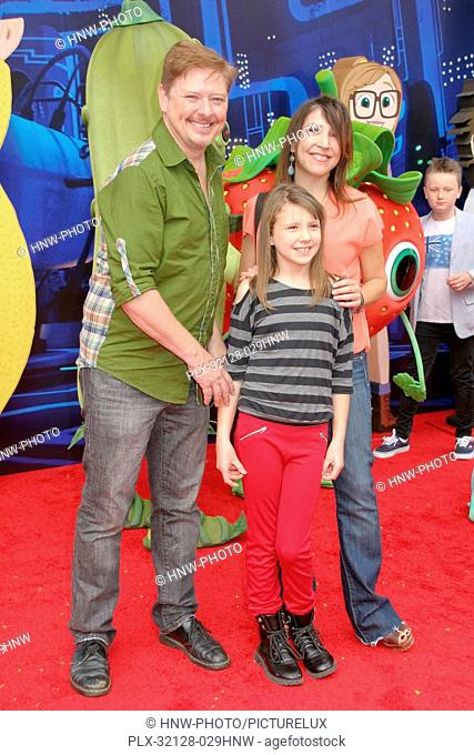 Dave Foley, Alina Foley, Crissy Guerrero 09/21/2013 Cloudy With A Chance Of Meatballs 2 Premiere held at the Regency Village Theatre in Westwood