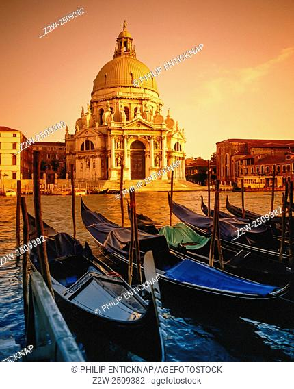 Church of Santa Maria Della Salute Venice Italy
