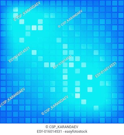 Gradient mosaic background
