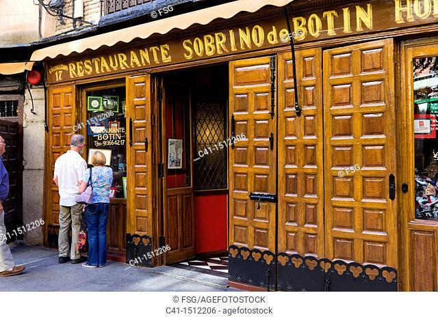 Restaurant Casa Botin, Madrid, Spain