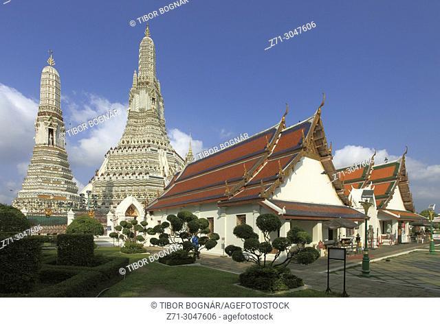 Thailand, Bangkok, Wat Arun, Temple of Dawn,