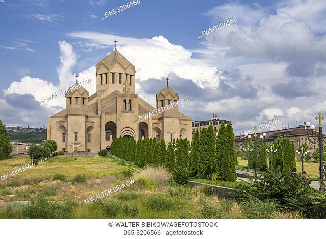 Armenia, Yerevan, Surp Grigor Lusavorich Cathedral, exterior