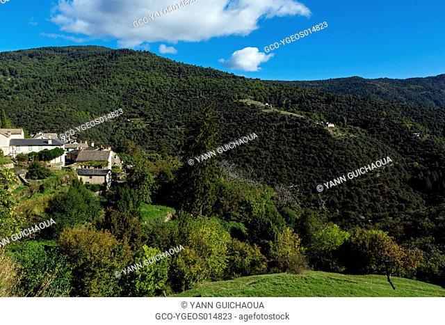 Saint Martin de Lansuscle,The National Park Of Cevennes, Languedoc Roussillon, France