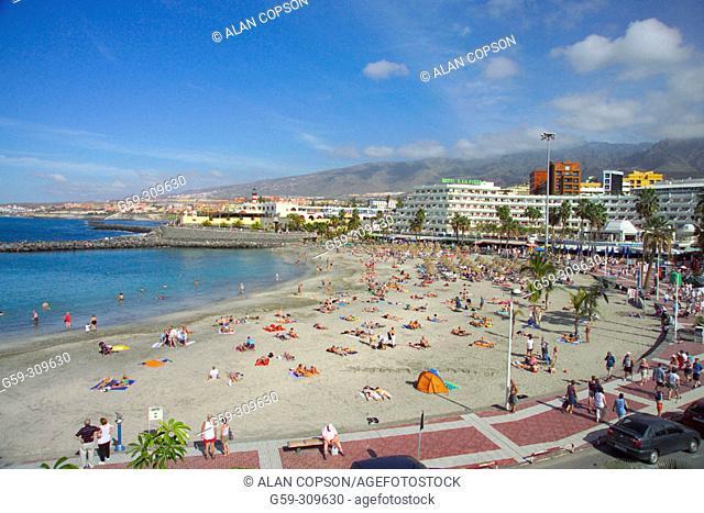 La Punta beach, Adeje coast. Tenerife, Canary Islands. Spain