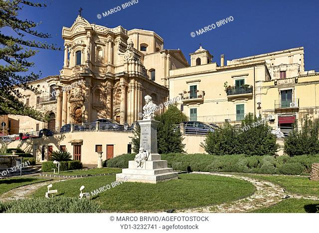 Chiesa di San Domenico (church) Noto Sicily Italy