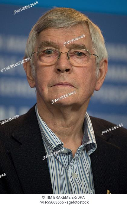 British actor Tom Courtenay poses during the photocall for '45 Years' at the 65th annual Berlin Film Festival, in Berlin, Germany, 06 February 2015