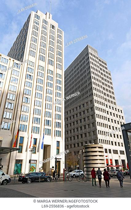 Berlin, Potsdamer Platz, The Ritz Carlton Hotel, Germany, Europe