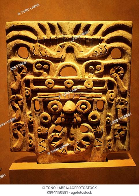 Tlaloc relief, Anthropology National Museum, Mexico City