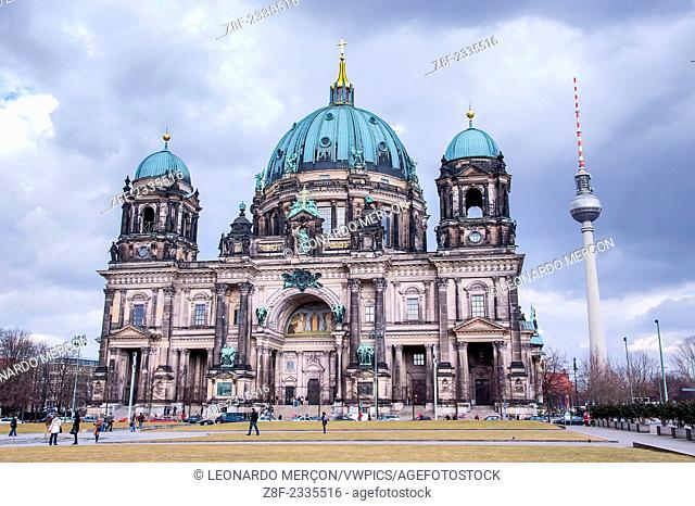 External view of the Cathedral of Berlin