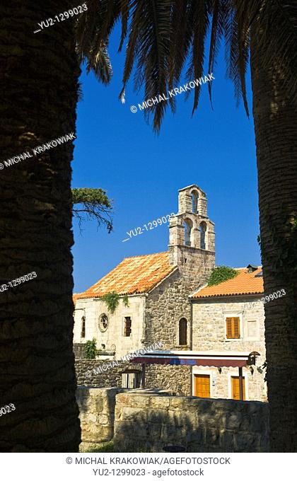 Church in Budva, Montenegro