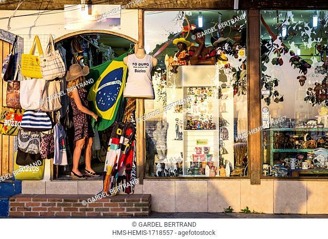 Brasil, Rio de Janeiro state, Buzios, Bardot Beach (praia Bardot)