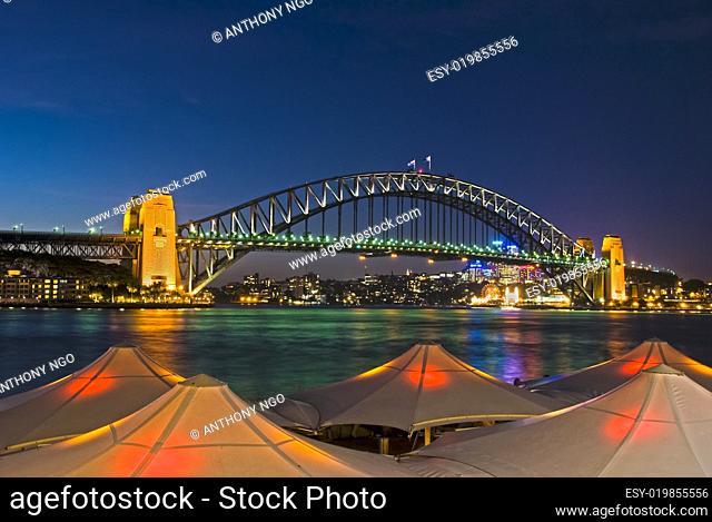 Circular Quay - Sydney Harbour Bridge