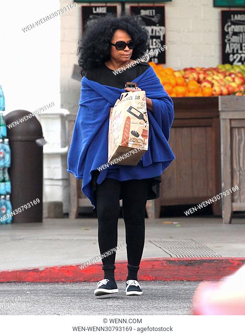 Diana Ross leaves Bristol Farms in Beverly Hills, California Featuring: Diana Ross Where: Los Angeles, California, United States When: 23 Jan 2017 Credit: WENN