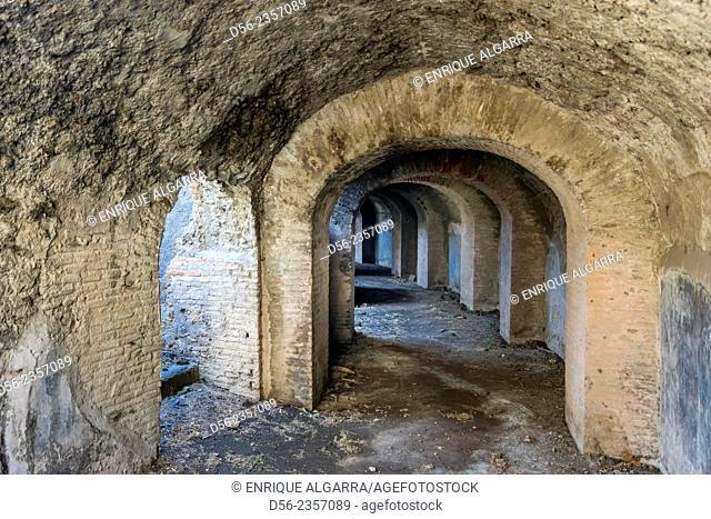 Ruins of Pompeii, Naples, Italy