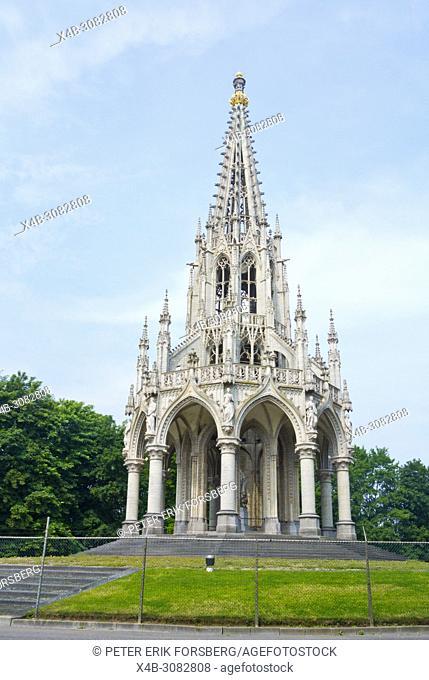 Monument Leopold I, Parc de Laeken, Brussels, Belgium