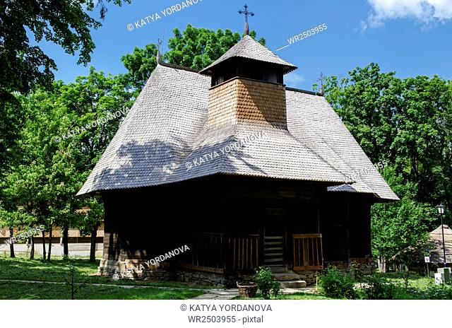 The old houses village museum,Bucharest,Romania,Europe