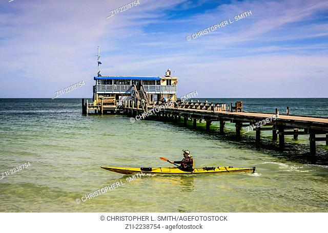 Rod & Reel Pier on Anna Maria Island Florida