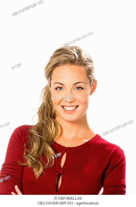Portrait of Young Woman Looking at Camera   Portrait of Young Woman Looking at Camera  Portrait of Young Woman Looking at Camera Portrait of Young Woman Looking...