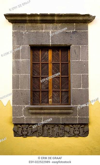 Canary Islands window
