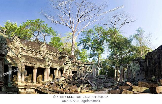 Cambodia Temples of Angkor Ta Prohm Inner sanctuary