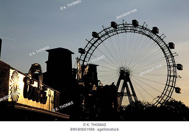 Vienna, Giant Ferry Wheel, Austria, Vienna, 2. district, Vienna - Prater
