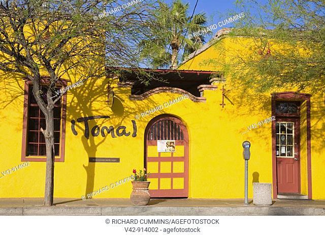 El Charro Restaurant in El Presidio District, Tucson, Pima County, Arizona, USA