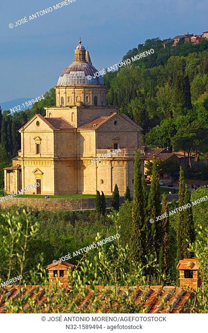 Montepulciano, Madonna di San Biagio church, Siena Province, Tuscany, Italy