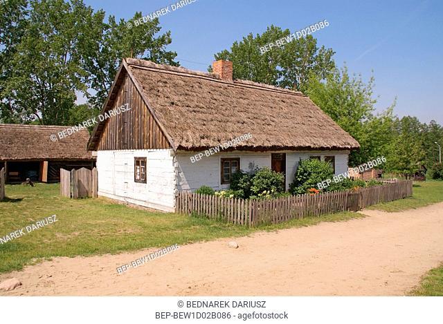 Kujavian-Dobrzyn Ethnographic Park. Klobka, Kuyavian-Pomeranian Voivodeship, Poland