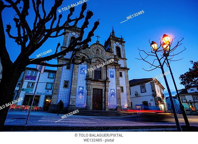 iglesia de San Pedro, iglesia mayor de Gouveia, siglo XVII, Gouveia,Serra Da Estrela, Beira Alta, Portugal, europa