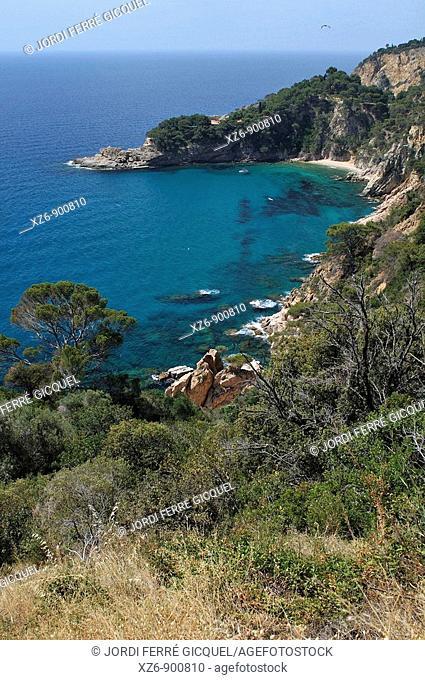 Cala Futadera, Tossa de Mar, Costa Brava, Spain, Europe
