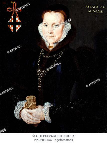 Hans Eworth - Portrait of Elizabeth Roydon, Lady Golding