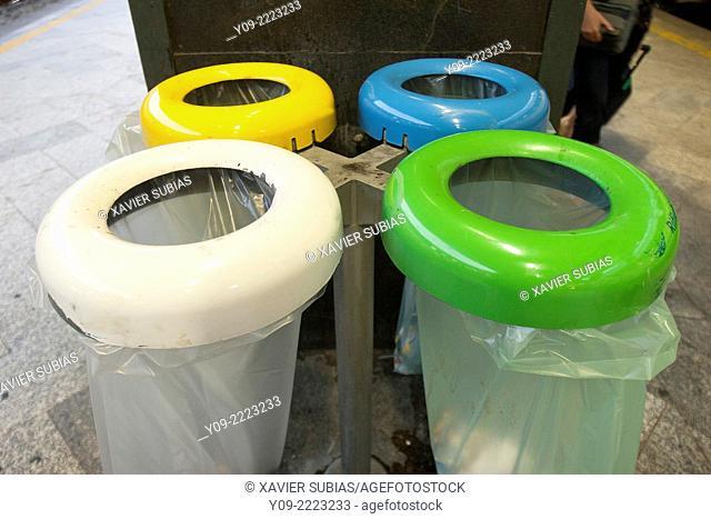 Recycle Bin, Rome, Lazio, Italy